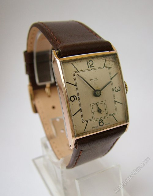 Antiques Atlas - Vintage Gents1960s Oris Hand Winding ...