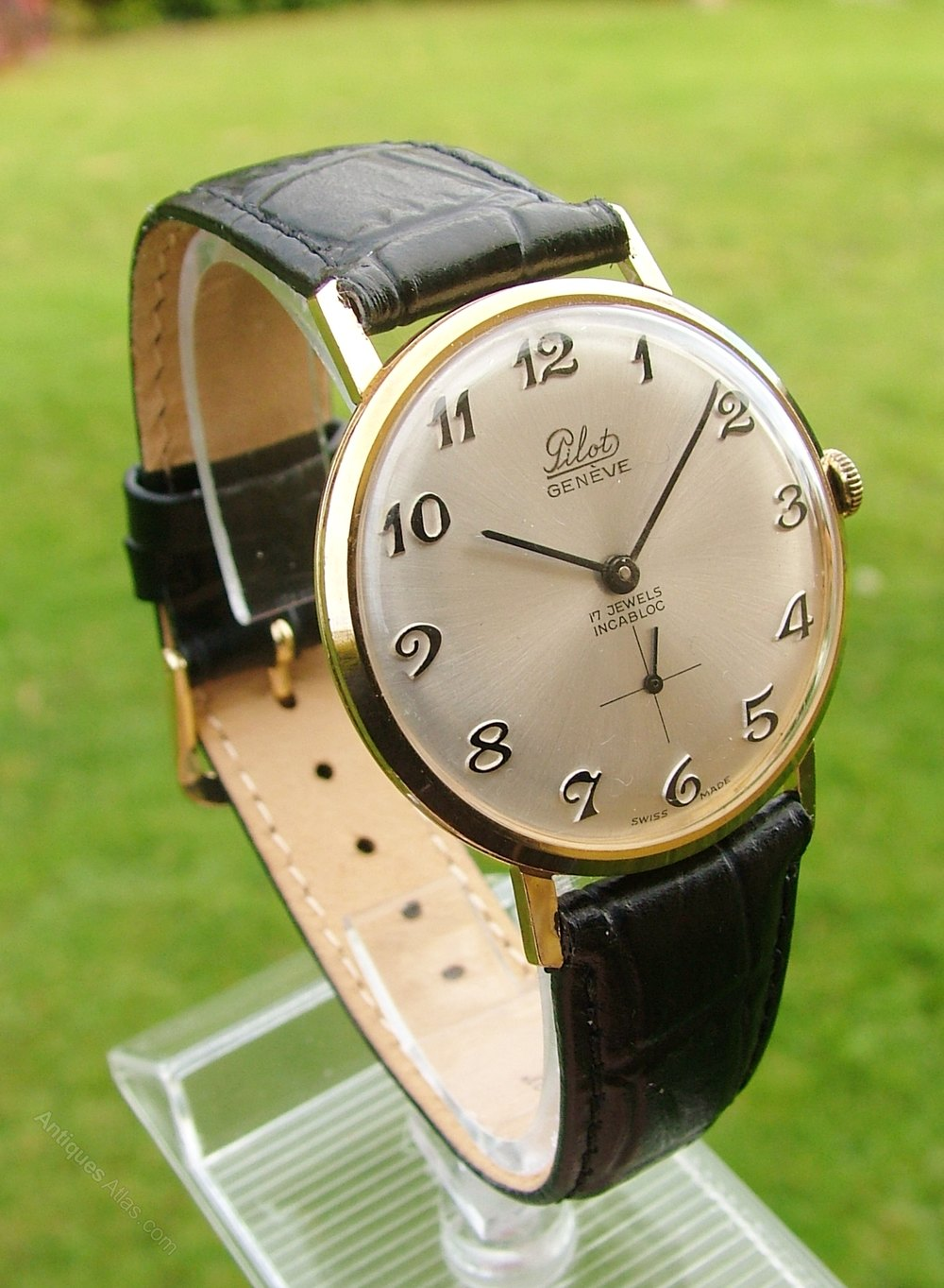 Antiques Atlas - Vintage Gents 1960s Pilot Hand Winding ...
