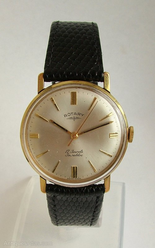 Antiques Atlas - Vintage Gents 1960s Rotary Hand Winding Watch