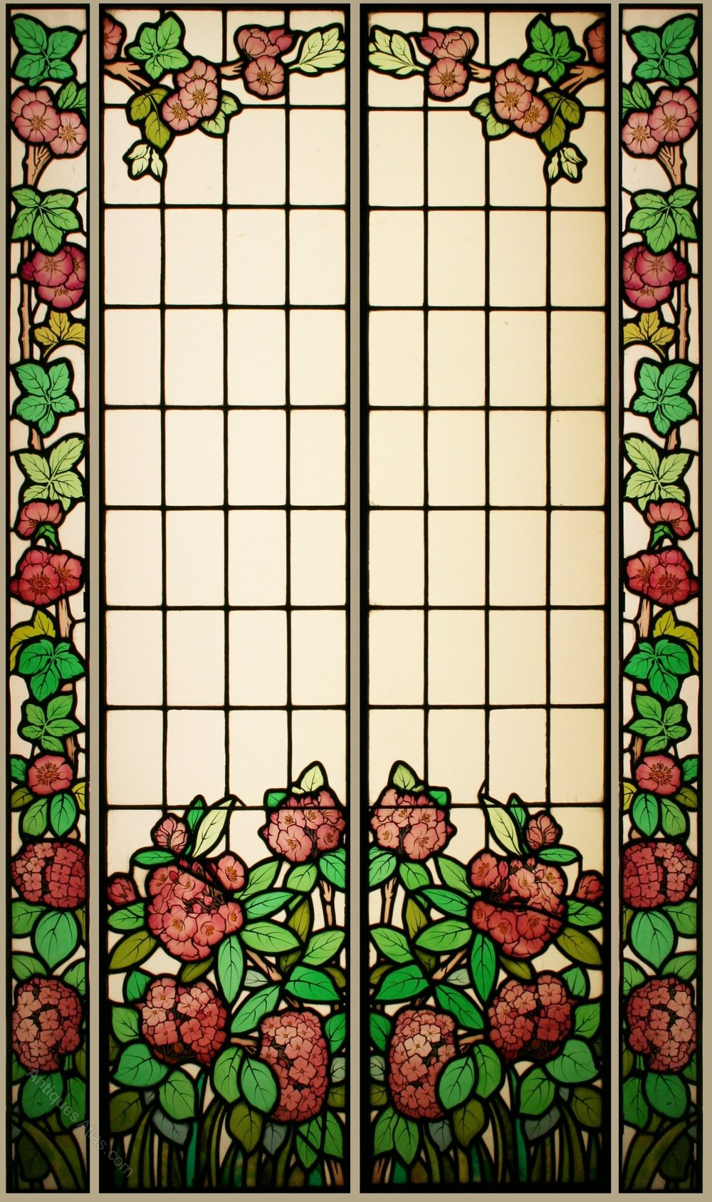 Leaded Stained Glass : Antiques atlas antique stained glass windows french art
