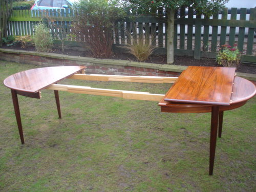 Antiques atlas retro danish rosewood extending dining for 10 person dining table for sale