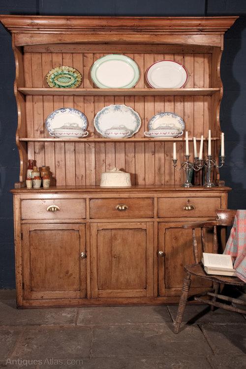 Welsh Dresser Victorian Pine Farmhouse