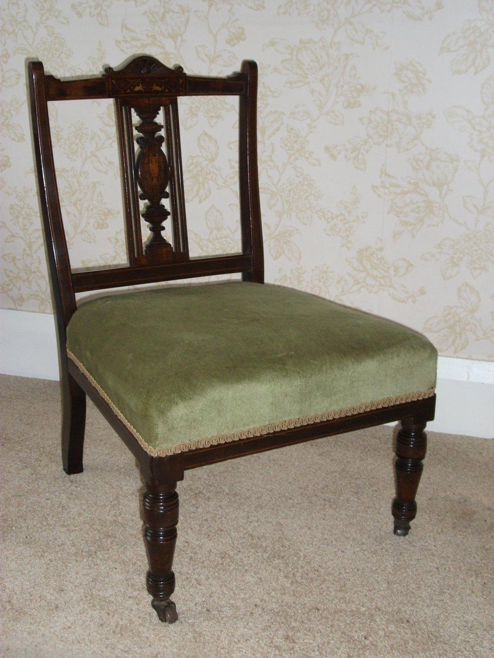 Edwardian Nursing Chair Antiques Atlas