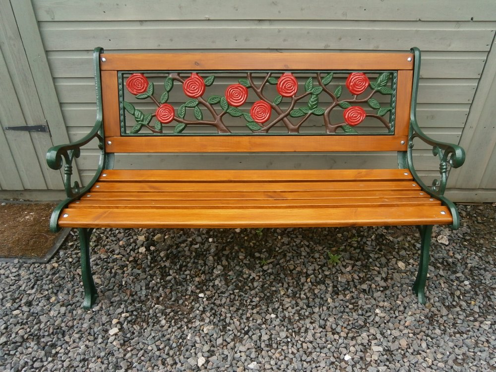 Antiques Atlas Cast Iron Amp Wooden Garden Bench