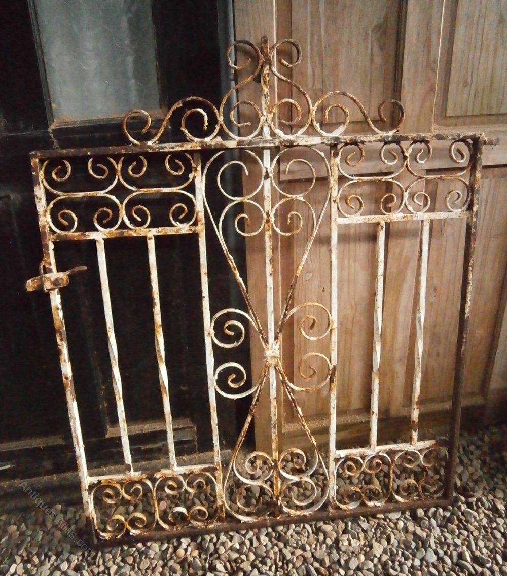 Antiques atlas heavy wrought iron gate
