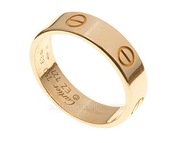 Antiques Atlas Mens Love Ring By Cartier