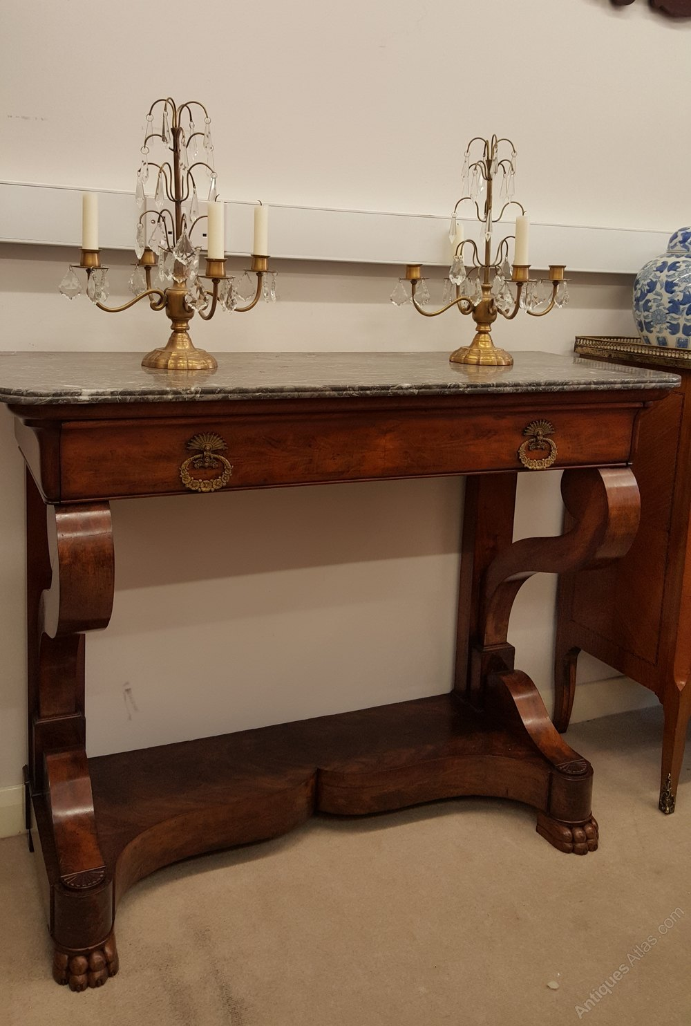 french console table antiques atlas