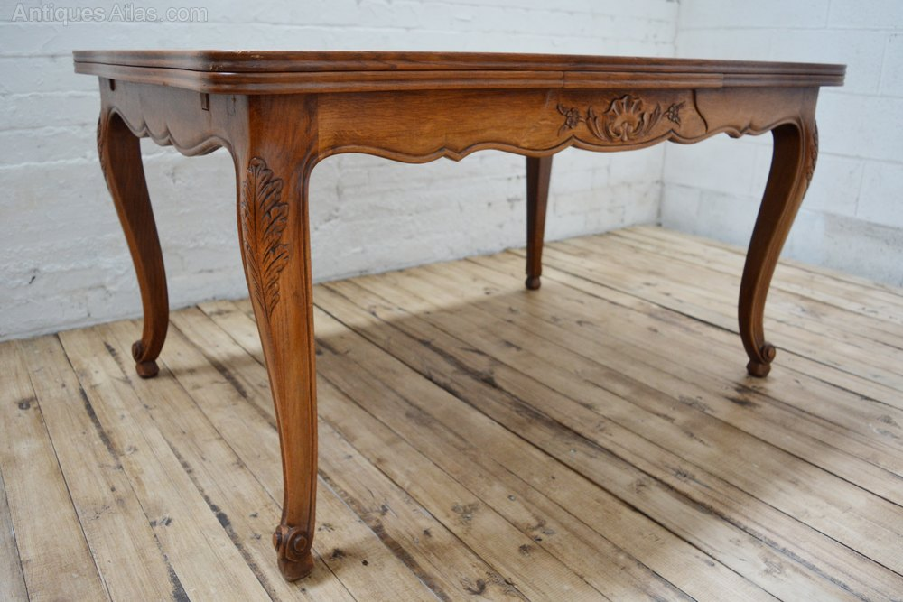 Antique french oak parquetry dining table antiques atlas - Antique french dining tables ...