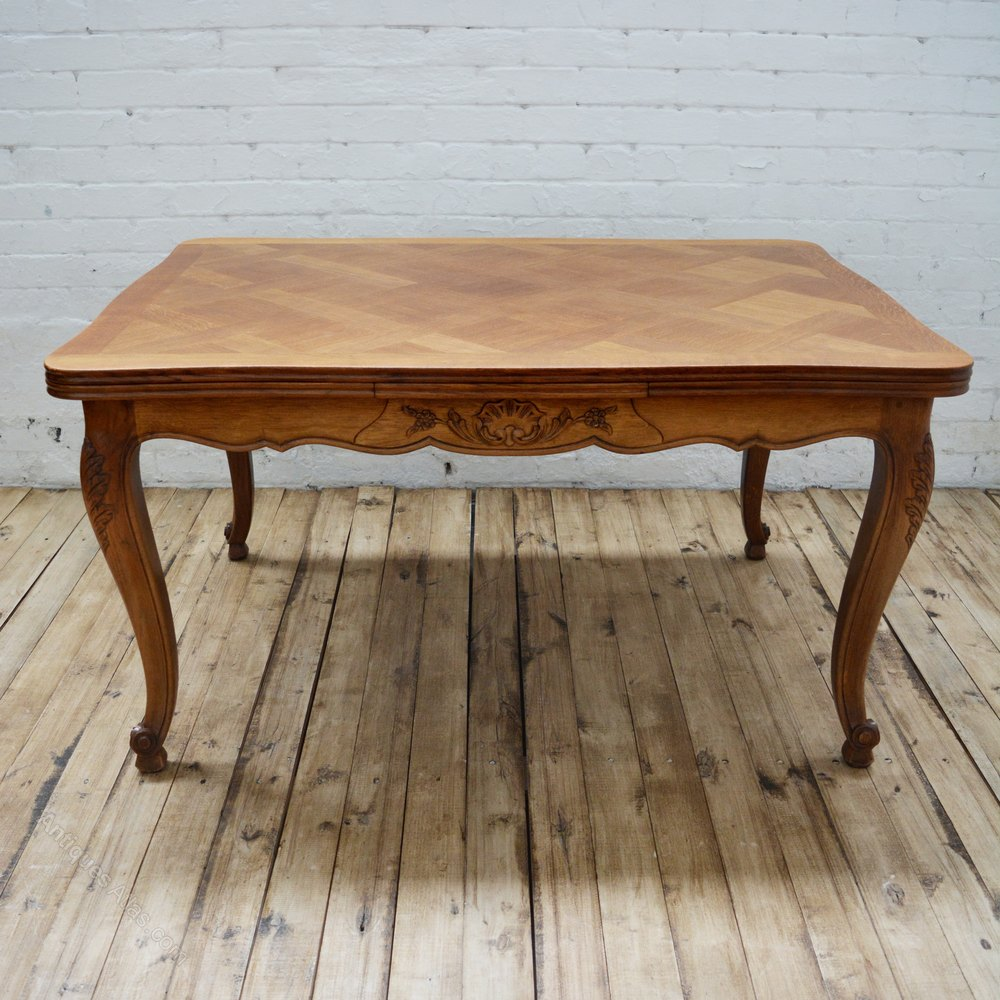 Antique French Oak Parquetry Dining Table Antiques Atlas