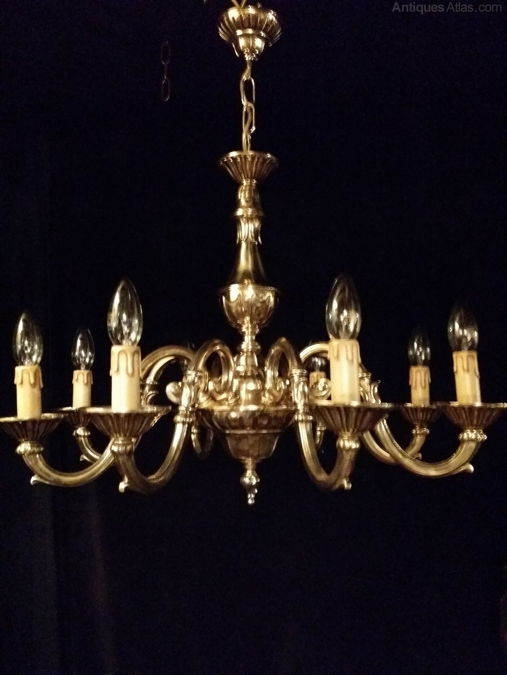 Antiques Atlas Antique Brass Chandelier