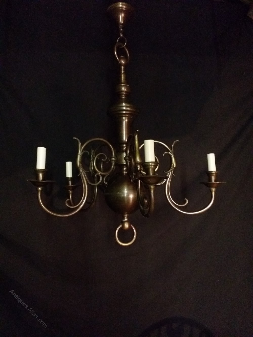 Vintage lighting chandeliers : Antiques atlas antique flemish chandelier