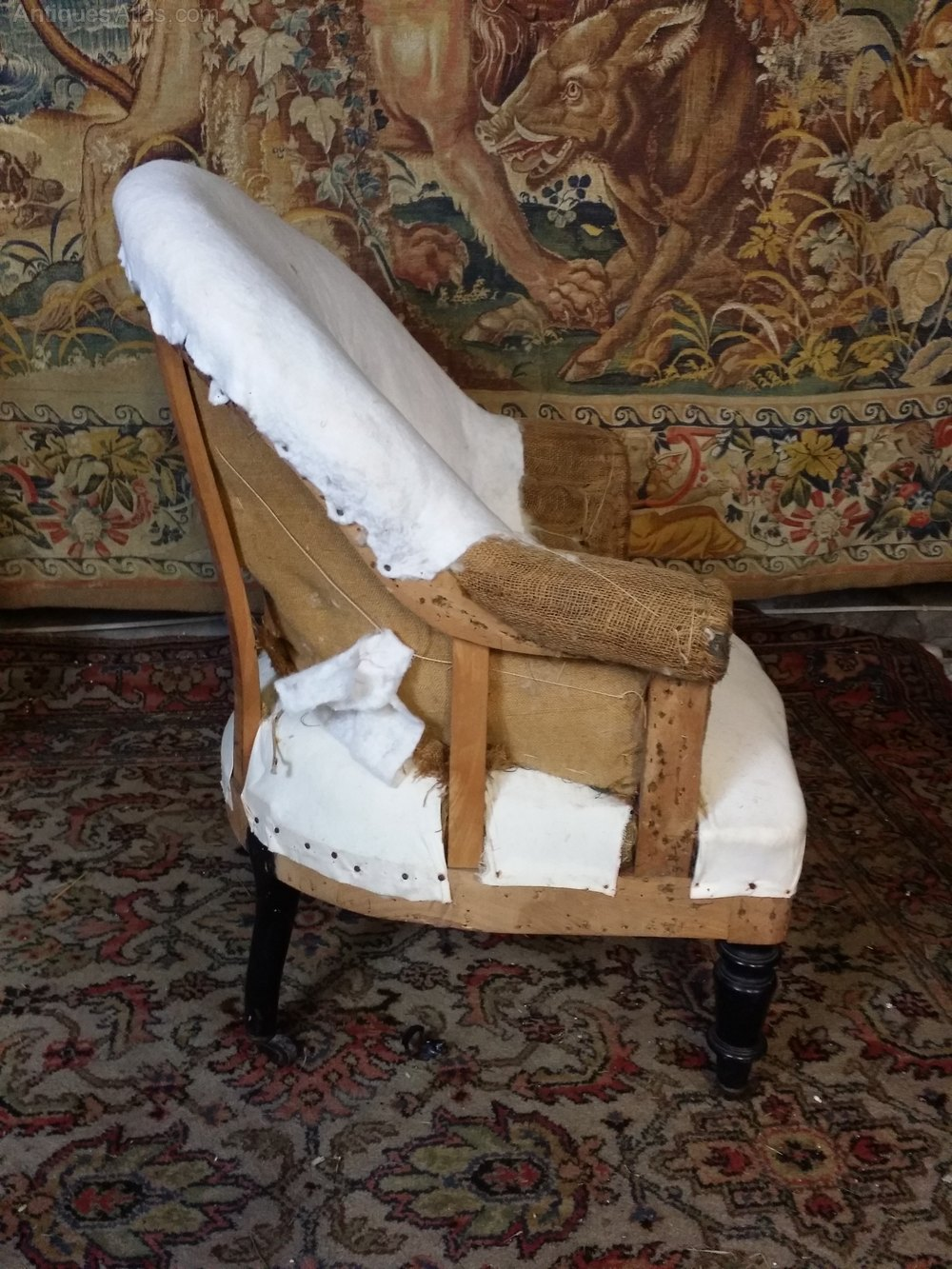 This Is A 19th Century French Tub Chair Antiques Atlas