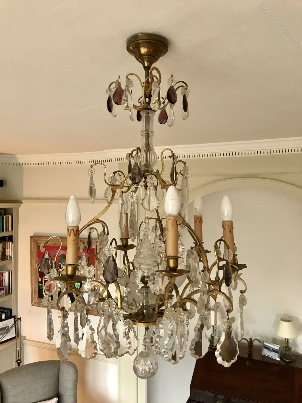 Antique French Chandelier - French Chandeliers - Flemish Chandeliers