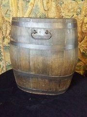 oak log bin