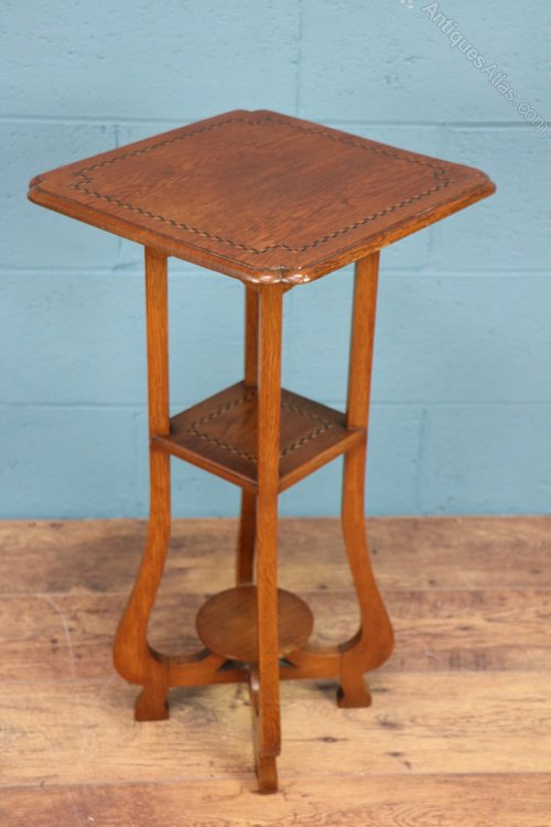 Arts and crafts oak table antiques atlas for Arts and craft tables