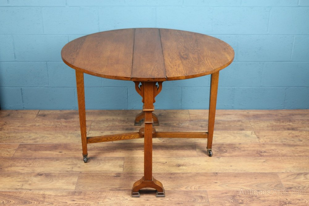 Arts And Crafts Oak Sutherland Table Antiques Atlas