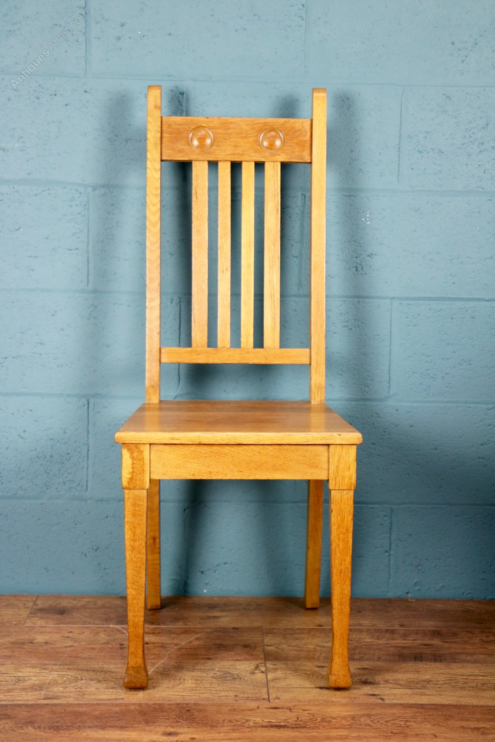 Foyer Chair Quotes : Arts and crafts oak hall chair antiques atlas