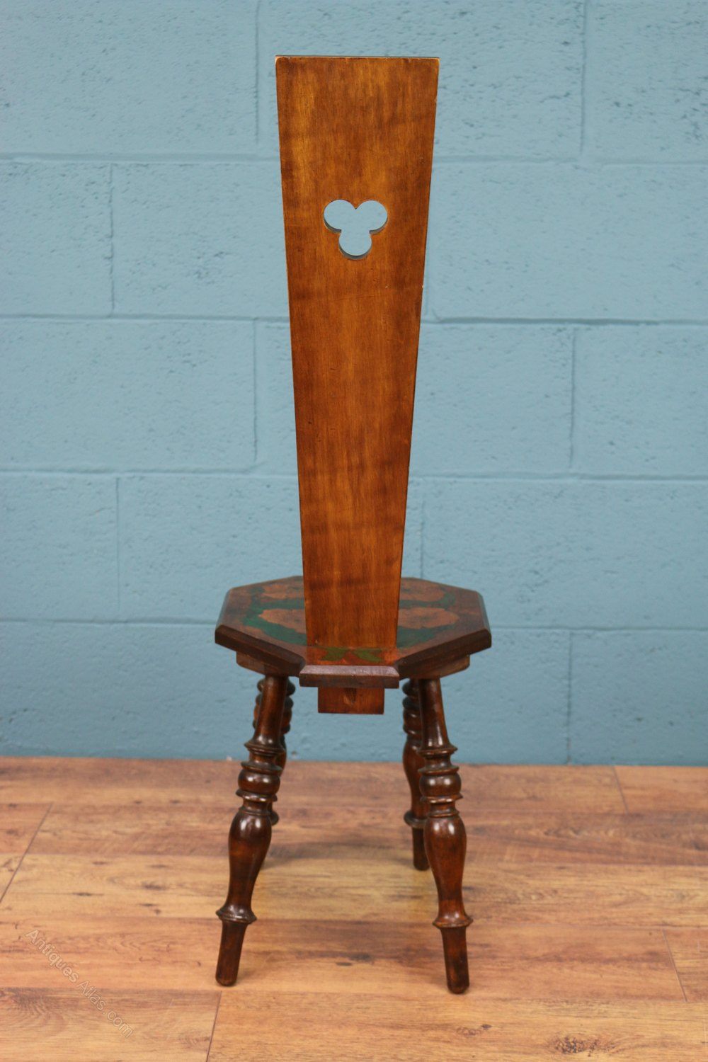 Arts And Crafts Spinning Chair - Antiques Atlas