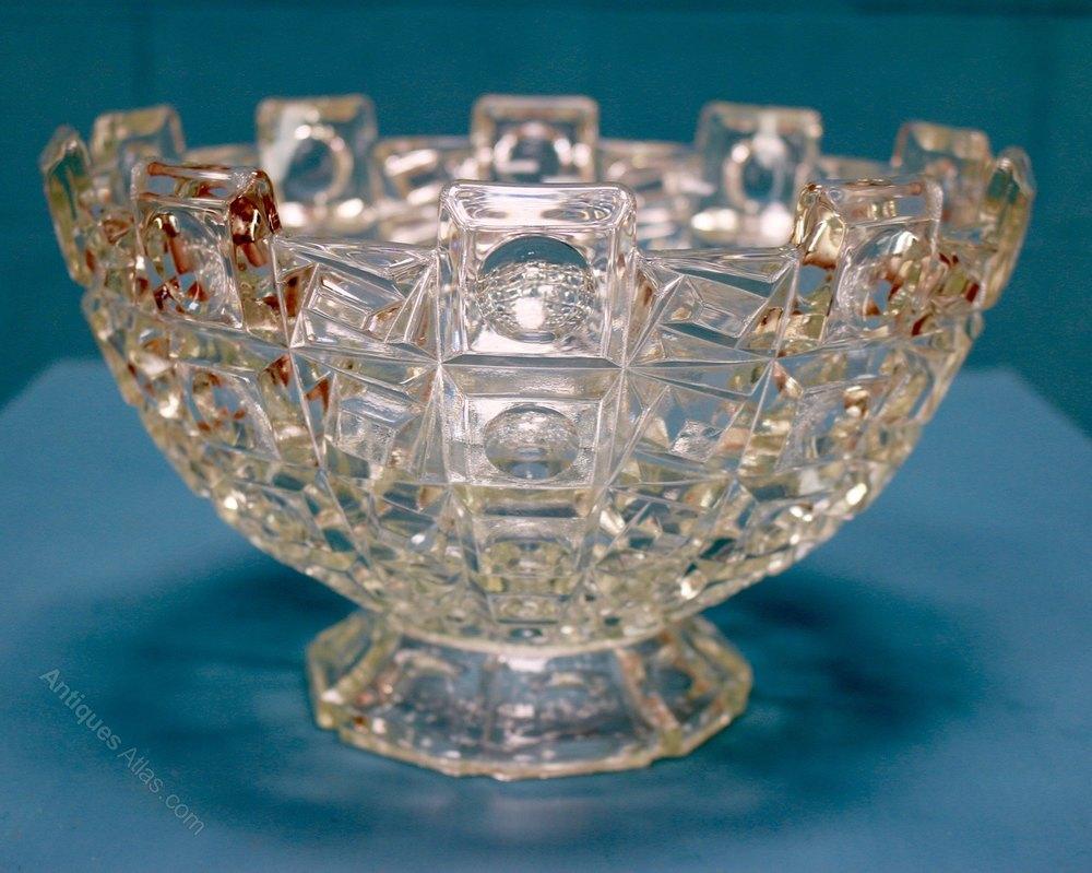 Antiques Atlas  Art Deco Glass Bowl