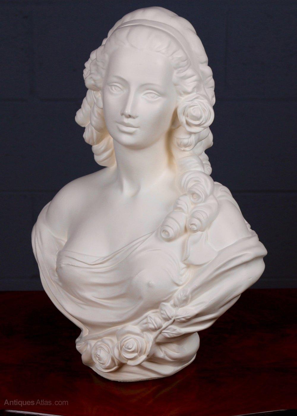 Antiques Atlas Parian Ware Bust