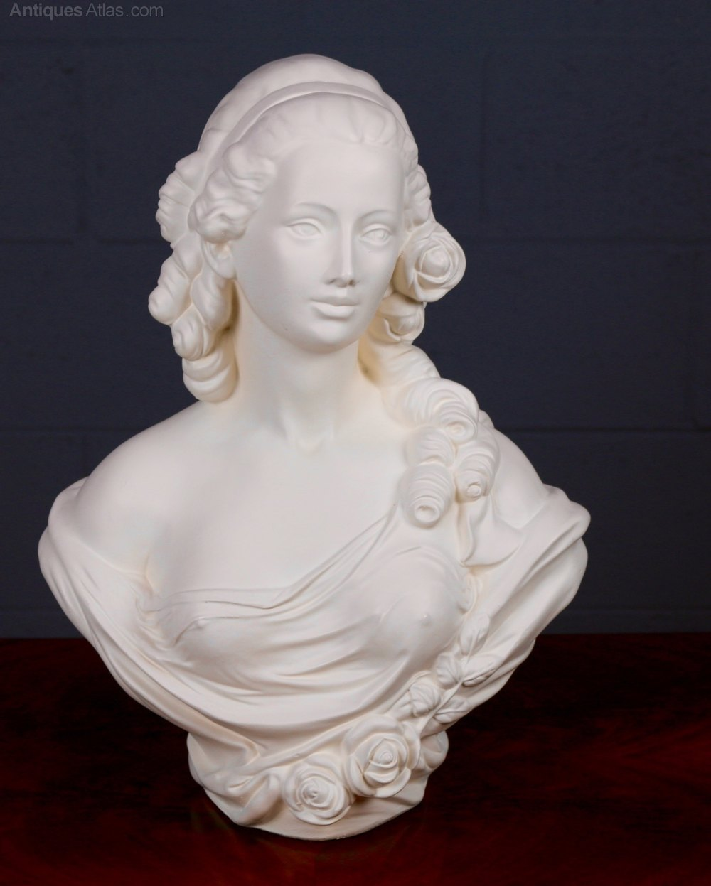 Antiques Atlas Parian Ware Bust