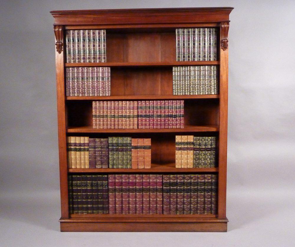 Antique Mahogany Bookcase Antiques Atlas