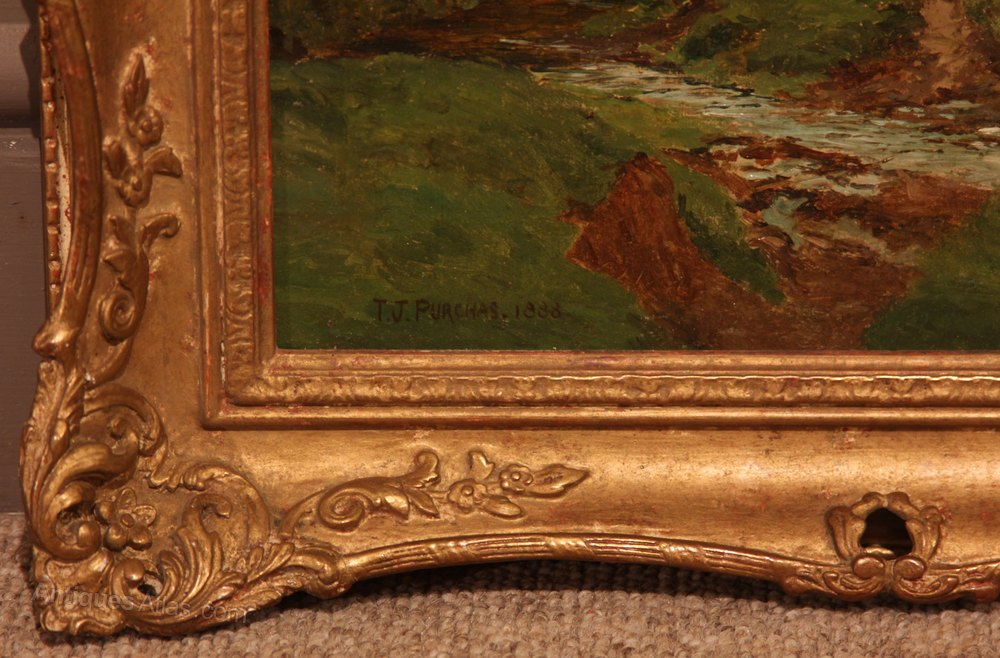 Oil Painting Signed Walton