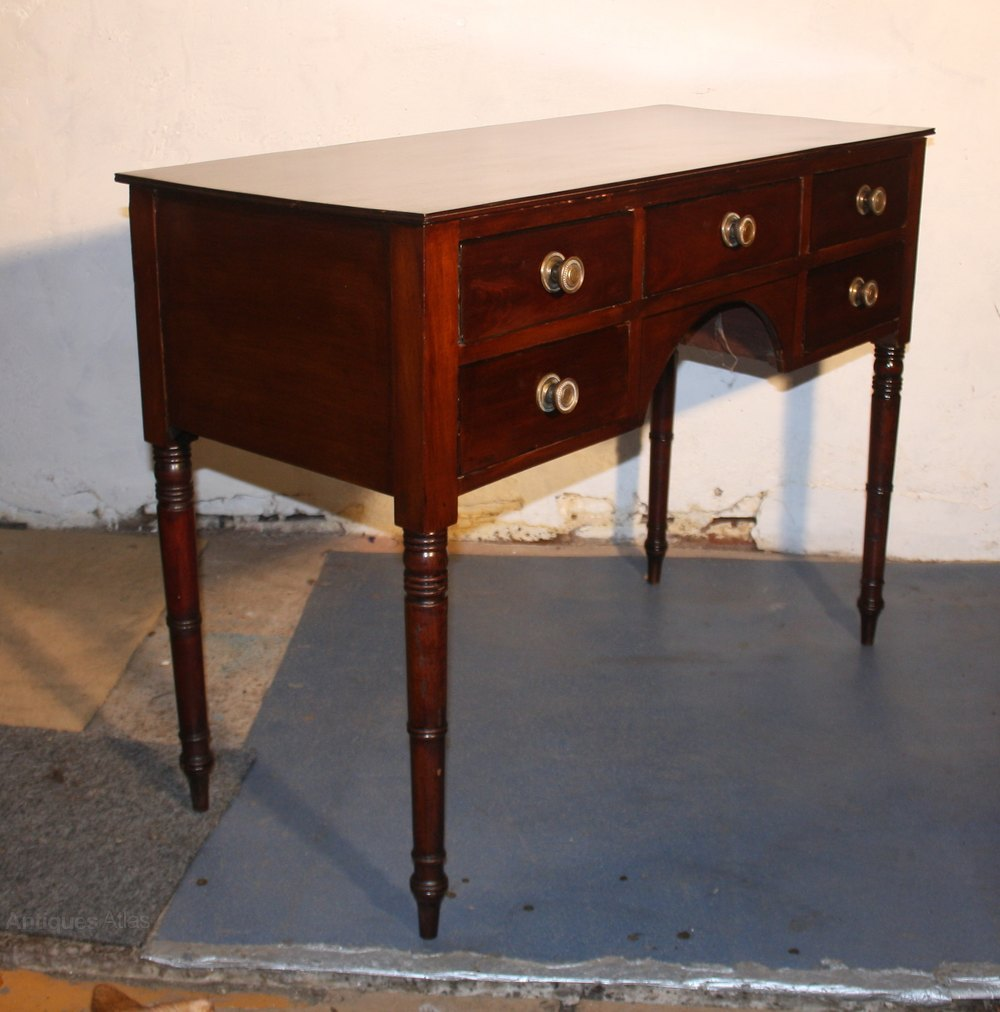 Georgian mahogany side cabinet dressing table antiques atlas for Dressing table cabinet