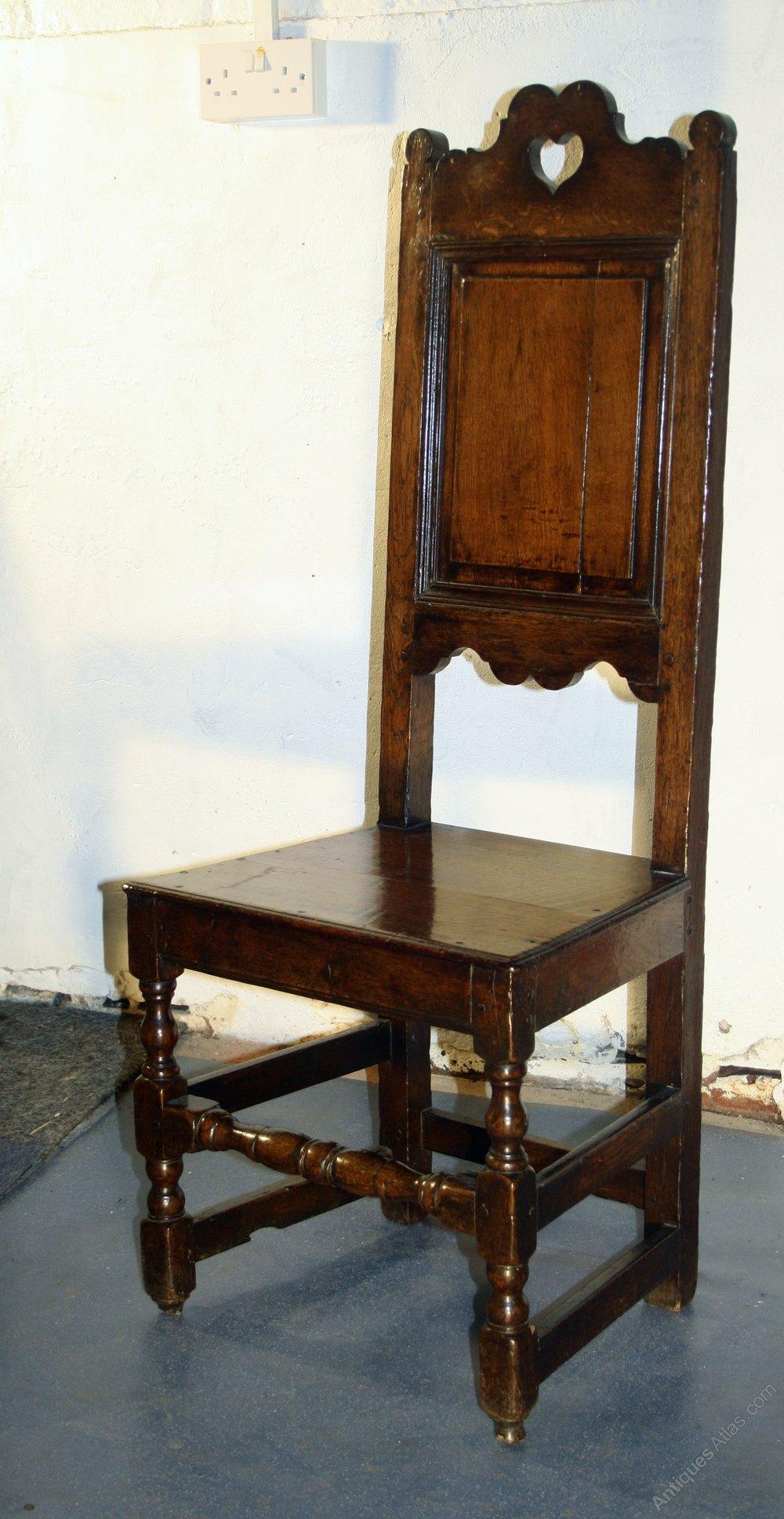 Seventeenth Century Welsh Oak Hall Chair 2 Antiques Atlas