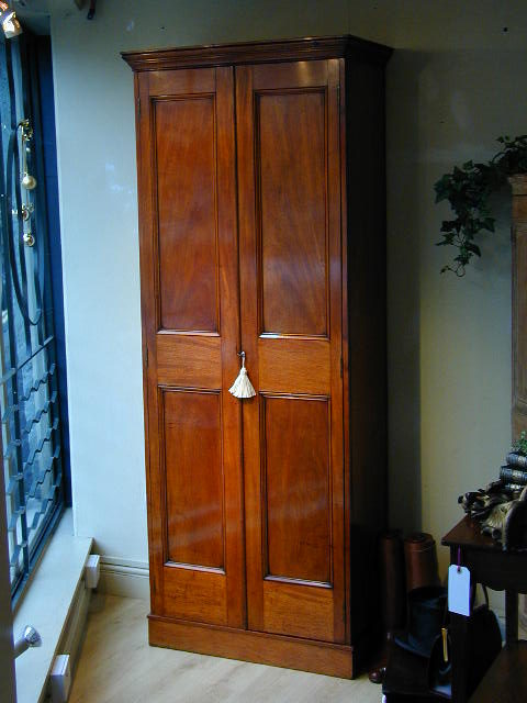 Hall Cupboards Furniture victorian hall cupboard or wardrobe - antiques atlas