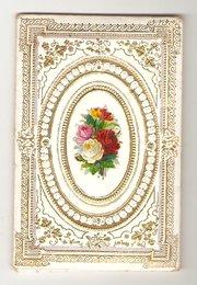 Victorian Padded Purfume Envel