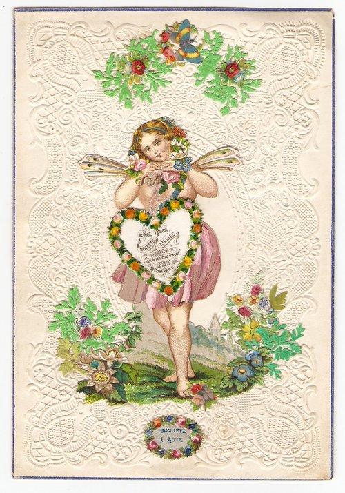 Antiques Atlas Victorian Valentine Card Circa 1845 – Victorian Valentine Card