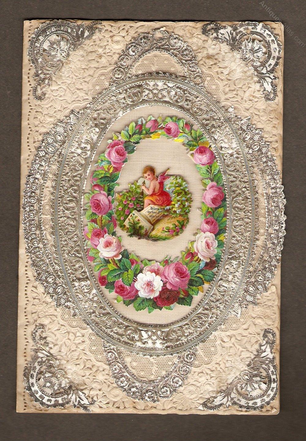 Antiques Atlas Victorian Valentine Card Circa 1870s – Victorian Valentine Card
