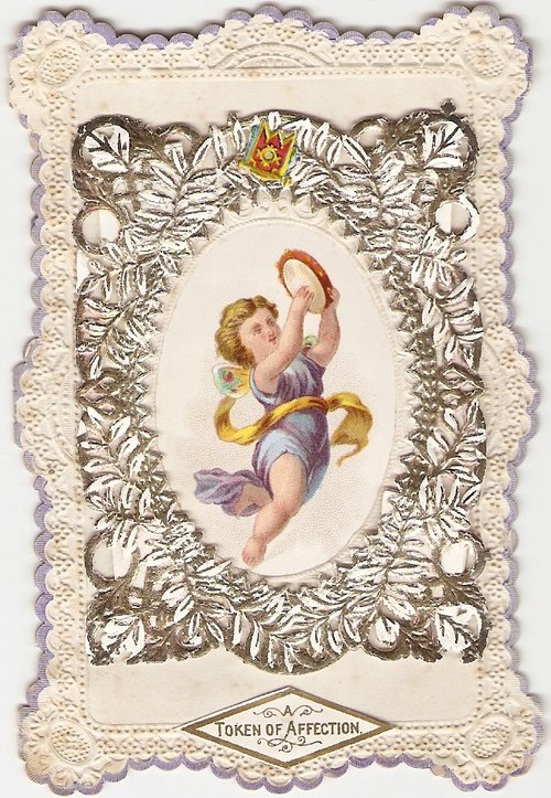 Antiques Atlas Victorian Valentine Card Circa 1850s – Victorian Valentine Card