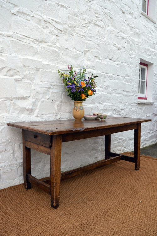 18thc Welsh Farmhouse Dining Table Antiques Atlas