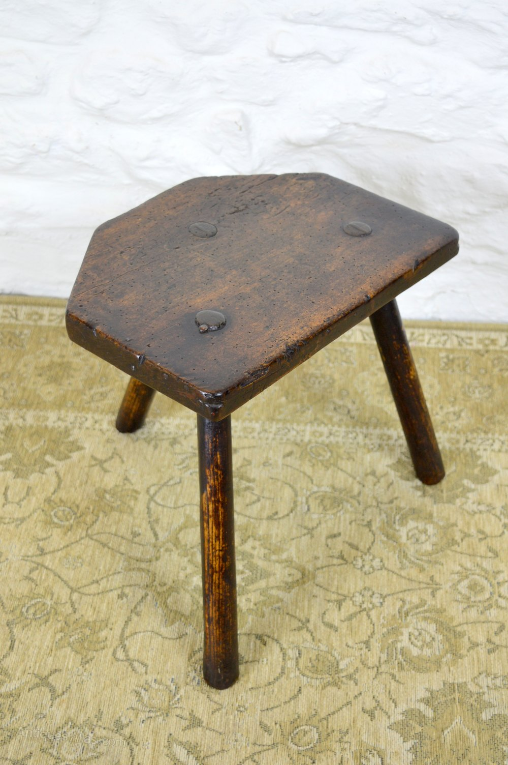 19thc welsh sycamore ash stool antiques atlas for Furniture 30cm deep