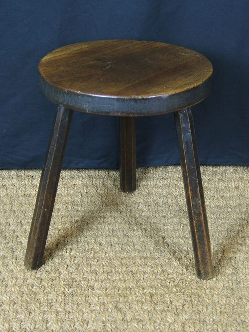 Rare Welsh Cricket Stool Cheese Table Antiques Atlas