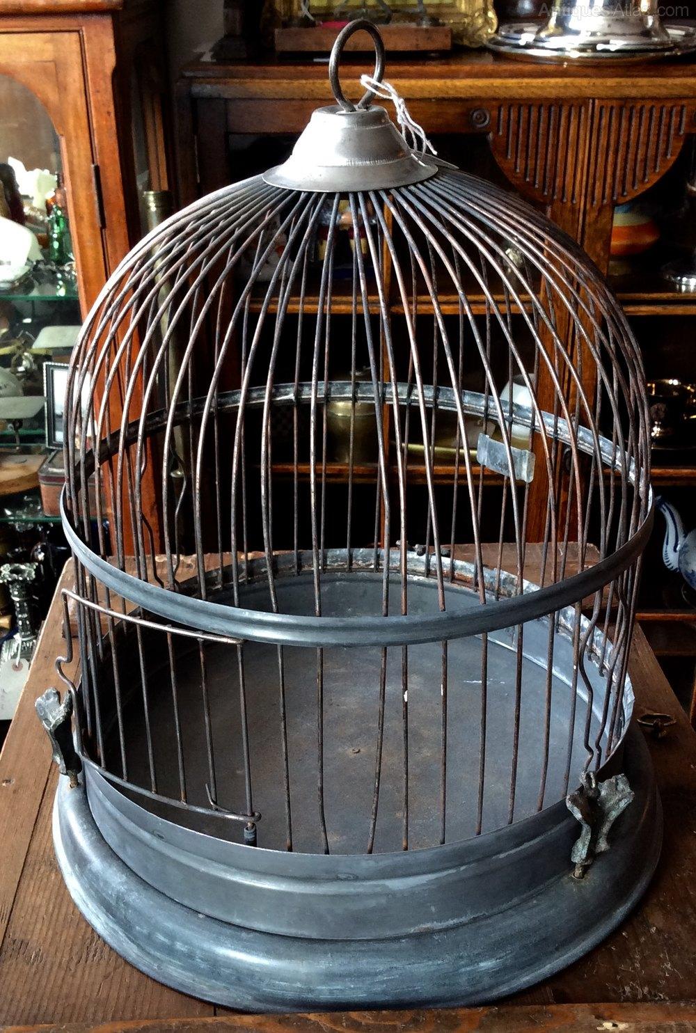 Antiques Atlas - 1930s Hanging Bird Cage