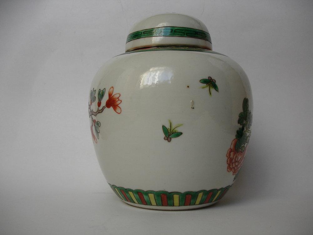 antiques atlas 19th century chinese famille verte ginger jar. Black Bedroom Furniture Sets. Home Design Ideas