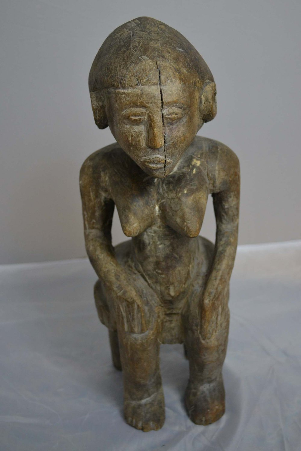 Antiques atlas a west african tribal carved wooden figure