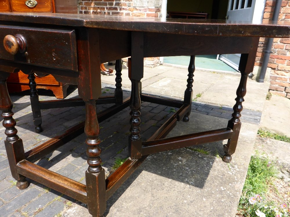 Early Gate Leg Dining Table C1740 Antiques Atlas