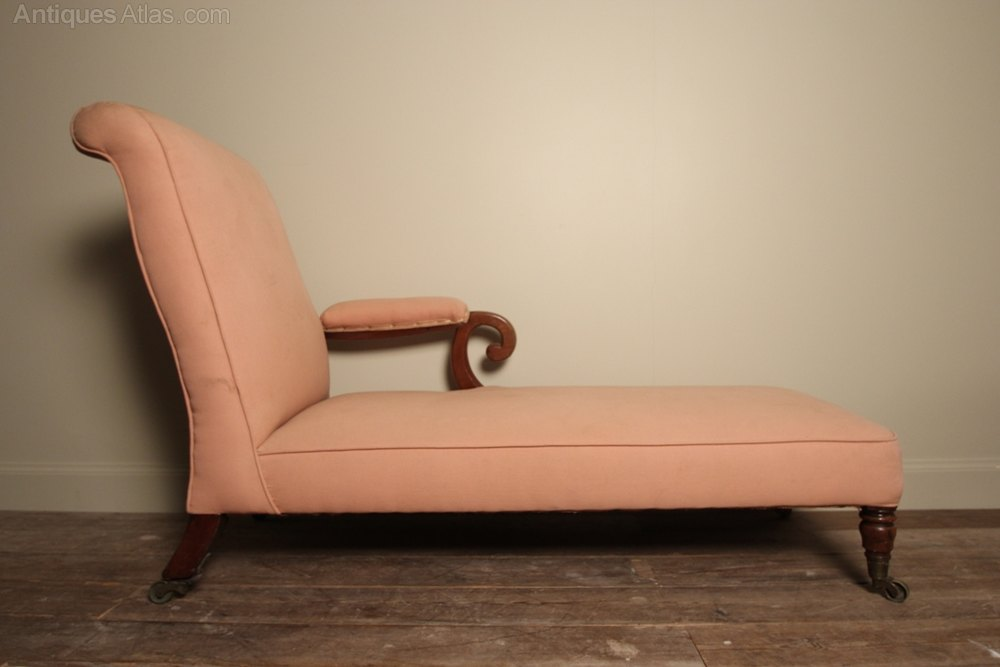19th c irish chaise longue by william gibton antiques for Chaise longue northern ireland
