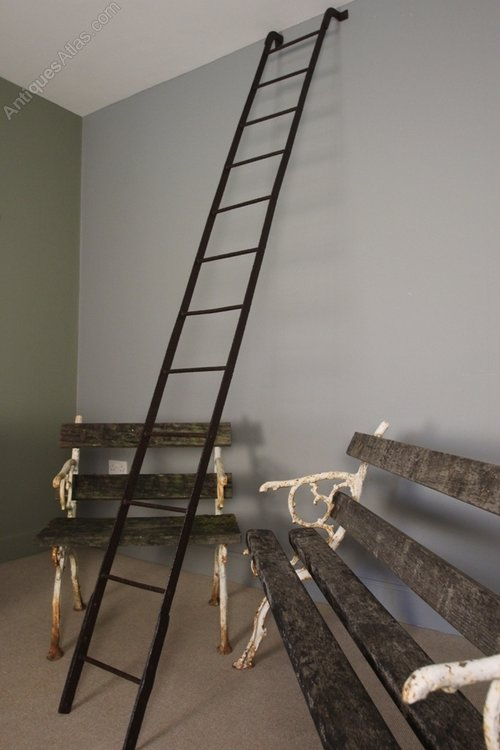 Antiques Atlas 19th C Wrought Iron Ladder