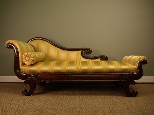 A Superb Regency Rosewood Chaise Lounge Antique ... - A Superb Regency Rosewood Chaise Lounge - Antiques Atlas