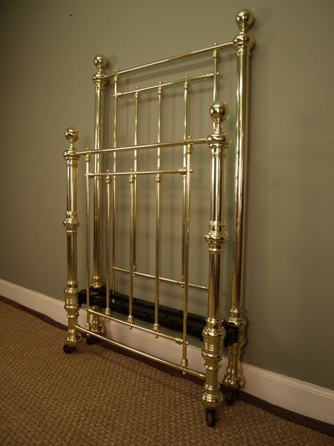 A Victorian Single Brass Bed Antiques Atlas
