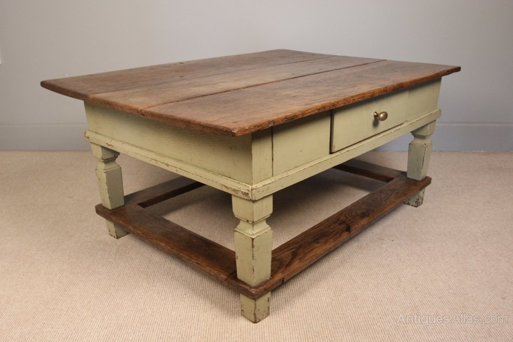 French Solid Oak Coffee Table Antiques Atlas