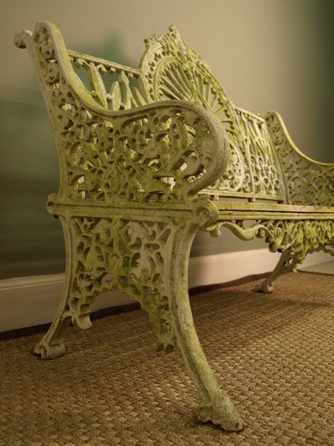 Antiques Atlas Victorian Cast Iron Bench In