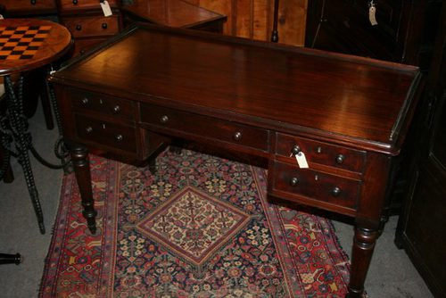 Antique Mahogany Desk / Writing Table ... - Antique Mahogany Desk / Writing  Table - Antique Mahogany Desk Antique Furniture