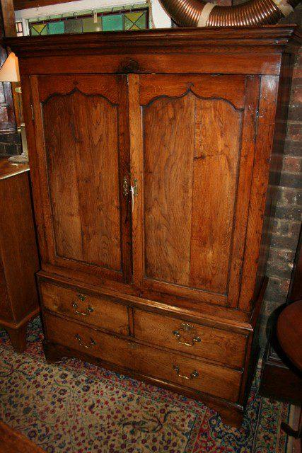Antique Oak Cupboard - Antiques Atlas