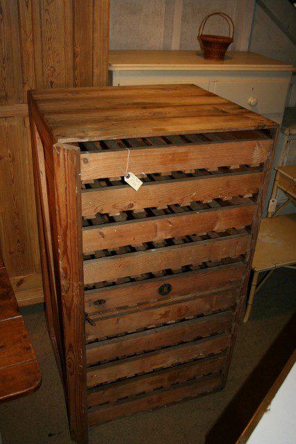 Antiques atlas apple crate for Antique apple crates